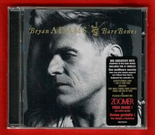 Bryan Adams Bare Bones 2010 Greatest Hits CD (20 tracks) New