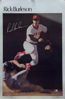 Rick Burleson 23x35 Boston Red Sox MLB SI Poster 1978