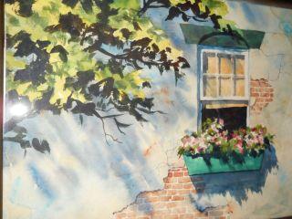 Color Impressionist Painting Listed Artist J Robert Burnell Art
