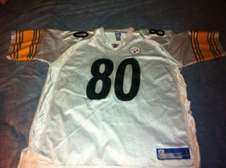 Plaxico Burress Reebok Pittsburgh Steelers Jersey XXLarge NFL Football