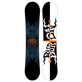 New Burton Deuce Snowboard 162 cm Wide Directional Twin