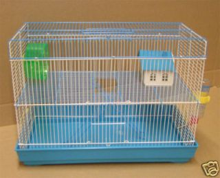 Brand New Two Levels Hamster Mouse Gerbil Small Animal Cage