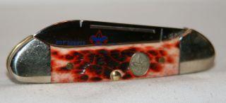 Case 2007 Baby Butterbean Official Boy Scout Knife