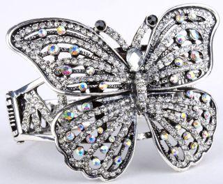 Clear Crystal Butterfly Bracelet Jewelry 7 Buy 10 Items