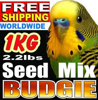 1kg 2 2lb Basic Budgie Parakeet Bird Food Feed Seed Mix