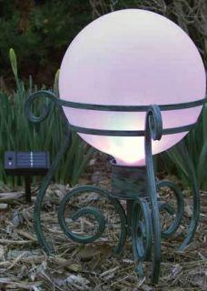 RSR9131 10 Treble Clef Metal Gazing Globe Ball Stand Holder
