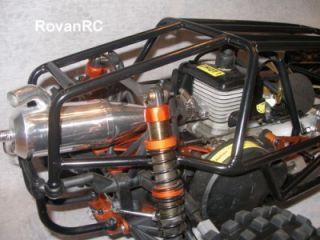 Rovan Black Steel Metal Buggy Sand Rail Roll Cage Fits HPI Baja 5B SS