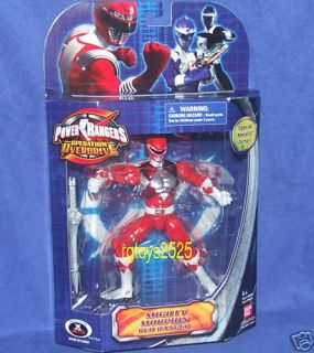 Mighty Morphin Power Rangers Red Ranger New Metallic