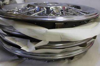 Buick Roadmaster 91 92 Chrome Wire Rims Center Cap Set4