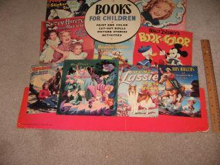 Comic Book Sign 1951 Hopalong Cassidy Roy Rogers Howdy Doody Gene