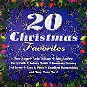 20 Christmas Favorites CD Andy Williams Julie Andrews Percy Faith