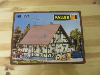 HO Building Kit Faller 221 House New