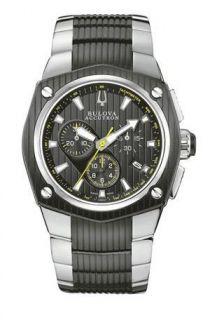 mens bulova accutron 65b123 corvara watch