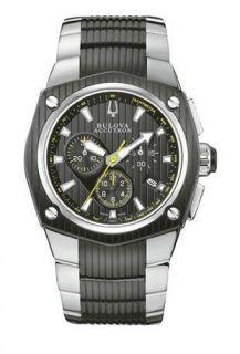 mens bulova accutron 65b123 corvara watch