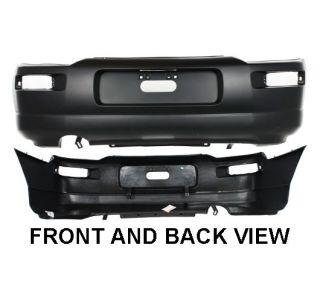 Bumper Cover Plastic Rear Primered Mitsubishi Eclipse