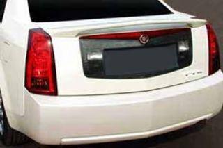 03 07 Cadillac cts Custom Racing Rear Wing Spoiler Fiberglass Drill