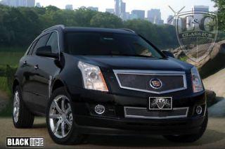2010 2011 10 11 Custom Cadillac SRX 2pc Black Fine Mesh Grille Grill