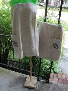 Husband Wife Shower Beach Towel Wraps Set