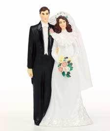 Lasting Love Bridal Wedding Cake Topper