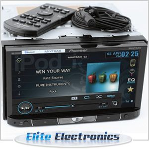 Pioneer AVH P8450BT 7 Monitor Bluetooth DVD CD iPod iPhone Car Player
