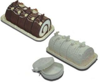 cake slice favor boxes full log cake with tray wedding white your