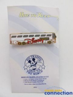 Disney Magical Express Bus Transportation Motor Coach Shuttle 2005 Pin