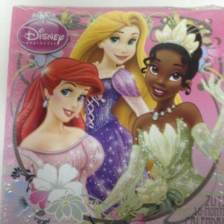 Princess Calender Kids Wall Calendar Disney Princess Girls