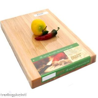 Kitchen Cutting Board Butcher Block Maple Reversible 1 1 2 Thick by