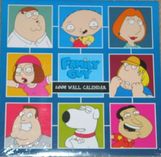 The Family Guy Animated TV Series 2008 Wall Calendar