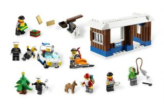 Lego 7553 City Christmas Holiday Advent Calendar 2011