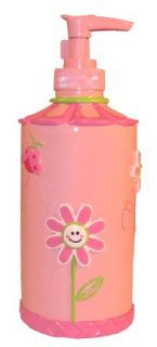 Butterfly Garden Bathroom Accessory Soap or Lotion Pump Dispenser