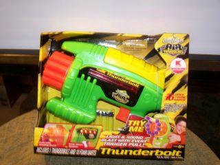 Buzz Bee Toys Air Warriors Thunderbolt And 10 Foam Darts Toy Gun (NIB