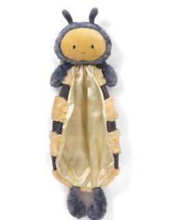 Gund Baby BUZZI BUMBLE BEE HUGGYBUDDY INFANT SECURITY BLANKET INSECT