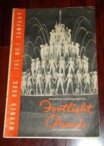 Original Pressbook Busby Berkeley James Cagney Keeler 1933