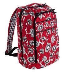 Brand NWT Vera Bradley Laptop Backpack Deco Daisy