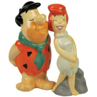 Fred Kissing Wilma Salt and Pepper Shakers by Westland Giftware