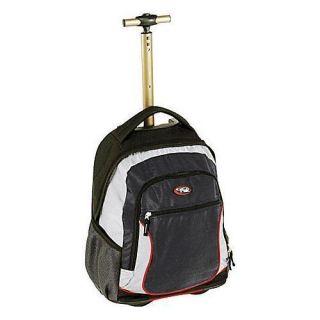 New CalPak City View Wheeled Laptop Backpack Black G