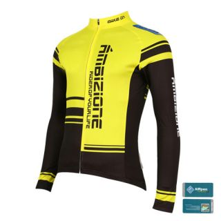 Bike on Race Cycling Bicycle Mens Jersey JB 513 Yellow