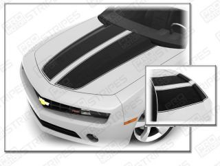 Camaro 2010 2011 Rally Racing Stripes Hood Trunk RS SS
