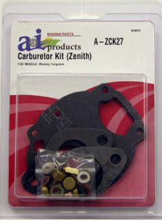 MF Massey Ferguson 135 165 35 Zenith Carburetor Kit