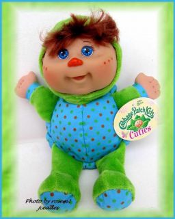 Cabbage Patch Kids Cuties Mognons Baby Powder PLUSH TURTLE DOLL rare w