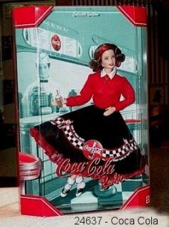 Barbie Coca Cola 50's Soda Fountain Collectors EDT