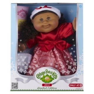 NIB 2012 Cabbage Patch Kids Doll Holiday Kid Exclusive Limited Edition