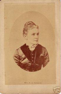 Mrs James A Garfield Lucretia President's Wife