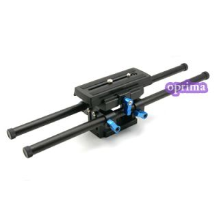 M5 Camera Base Plate Riser Rod for Cage Rig Support DSLR Canon 500D