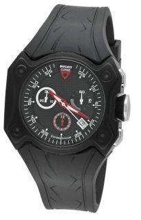 Ducati CW0014 Desmo Chronograph Mens Rubber Watch