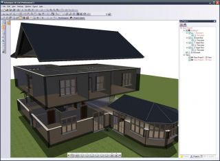 Ashampoo 3D CAD Architecture PRO, Design 3D Views Construction House