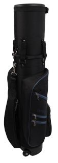 New Caddy Daddy Golf Co Pilot Pro 2 Hybrid Travel Case Black/Blue