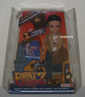 Bratz Boyz Funk Out Cade Boy Doll Brand New in Box with 2 Outfits