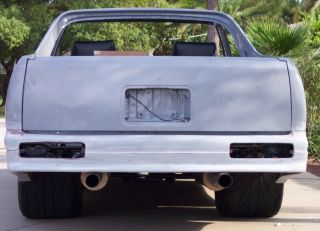 78 87 Chevy El Camino or Malibu Wagon Pro Street Narrowed Chassis
